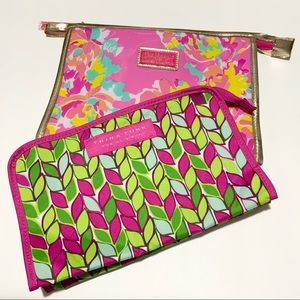 Lilly Pulitzer / Trina Turk Make-up Bags